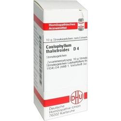CAULOPHYLLUM THALICTROIDES D 4 Globuli 10 g