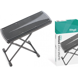 Stagg FOSQ1 Gitarren-Fußstütze Foot Stool - Black