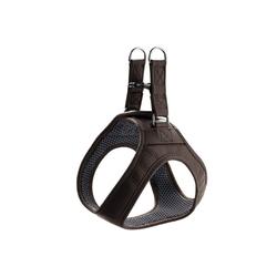 Hunter Hunde-Geschirr Hilo, Leder braun S - 43 cm - 48 cm