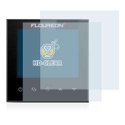 BROTECT Schutzfolie für Floureon Smart Wifi HY03WE, (2 Stück), Folie Schutzfolie klar