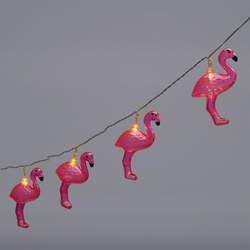 Lichterkette LED FLAMINGO