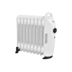 Pro-tec Ölradiator, 1000 W, Mobile Elektroheizung 1000W Heizkörper weiß 39 cm x 140 m x 37 cm x 13.4 cm