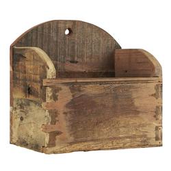 Ib Laursen Holzkiste Wandkiste Holzkiste Unika Alt Holz Kiste Box 26x18cm Ib Laursen 2182-00