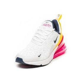 Nike Wmns Air Max 270 white-yellow/ white-pink, 36.5