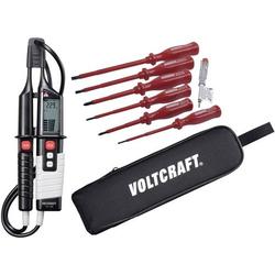 VOLTCRAFT VC 65 Zweipoliger Spannungsprüfer CAT III 1000 V, CAT IV 600V LCD, Akustik, LED