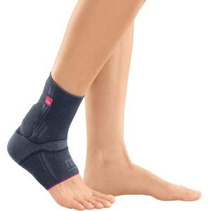 medi Achimed - Achillessehnenbandage unisex | silber | Größe IV | Bandage zur Entlastung der Achillessehne | Beidseitig tragbar