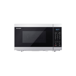 Sharp Mikrowelle YC-MG02E-S Mikrowelle mit Grill