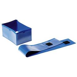 50 DURABLE Palettenbanderolen blau