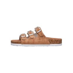 CRUZ SANTA Sandale mit Kork- und Naturkautschuksohle 39