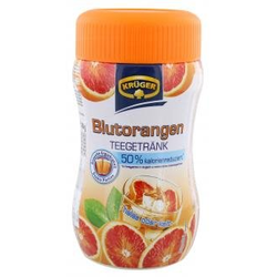 Krüger Teegetränk Blutorange 50 Prozent kalorienreduziert 400g