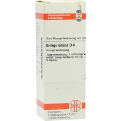Ginkgo Biloba D 4 Dilution