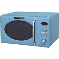Schneider Mikrowelle Schneider MW720 LB blau RETRO Mikrowelle 700Watt 20l nostalgie, 20,00 l