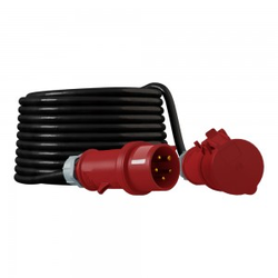 CEE Verlängerungskabel Kabel 50m 32A/5P IP44 Starkstromkabel 5x4mm2 Doktorvolt® 6008