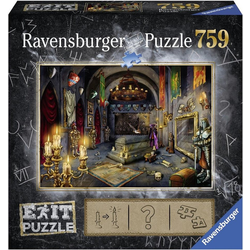 Ravensburger Puzzle Puzzle Exit 6: Im Vampirschloss, 759 Puzzleteile, Made in Germany