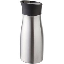 Helios Thermobecher Click'n'Drink, spülmaschinenfest grau 400 ml