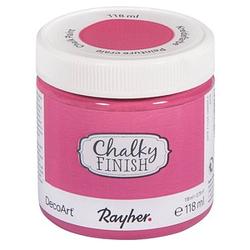 Rayher Chalky Finish Kreidefarben pink 118 ml, 1 St.
