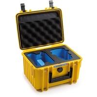 B&W Copter Case Type 2000 Y mit DJI Mini 2 Inlay (2000/Y/MINI2)