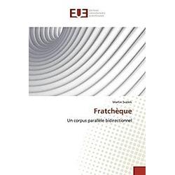 Fratchèque. Martin Svásek  - Buch