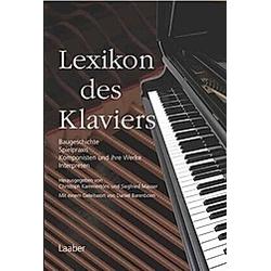 Instrumenten-Lexika: Lexikon des Klaviers - Buch