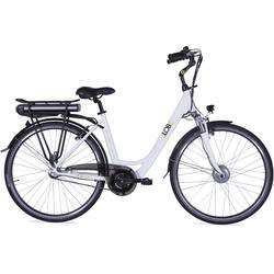 LLobe E-Bike Metropolitan JOY weiß 10 Ah Damen Damenfahrräder Fahrräder Zubehör