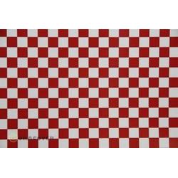 Oracover 44-010-023-002 Bügelfolie Fun 4 (L x B) 2m x 60cm Weiß, Rot
