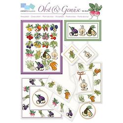 """buttinette Stickvorlage """"Obst & Gemüse"""""""