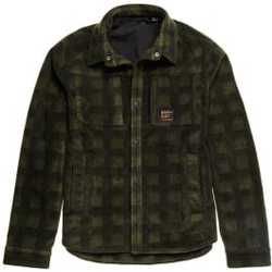 Superdry - Snow Tech Overshirt M Buffalo Check - Fleece - Größe: L