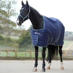 Bucas Pferdedecke Stalldecke Quilt 150, Gr. 125 cm - blau