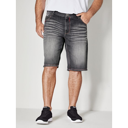 Jeans Bermuda Men Plus Schwarz