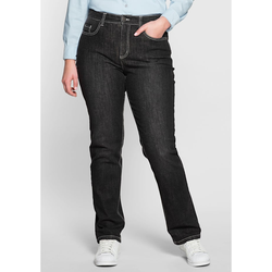 Sheego Shaping-Jeans Sheego black Denim