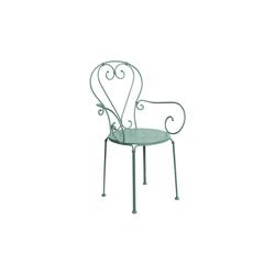 BUTLERS Gartenstuhl CENTURY Stuhl mit Armlehnen