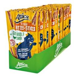 Attica Katzenfutter Sticks Geflügel & Leber 50 g, 30er Pack