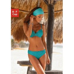 LASCANA Bügel-Bikini im Pünktchen-Design blau 42