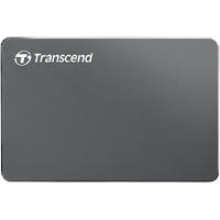 Transcend StoreJet 25C3N 1 TB USB 3.1 grau-metallic