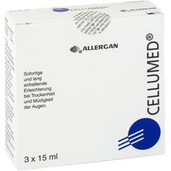 CELLUMED Augentropfen 3X15 ml