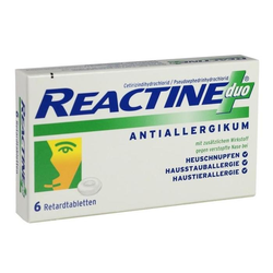 REACTINE duo Tabletten