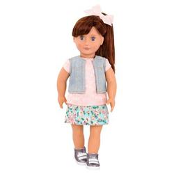 Our Generation - Puppe Myriam mit Blumenprint-Rock 46 cm