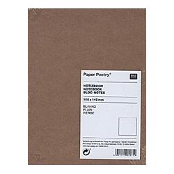 Notizbuch A6 Kraftpapier-Umschlag  blanko - Buch
