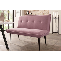 Sitzbank Rom II, Breite 152 cm rosa