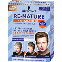 RE-NATURE Re-Pigmentierung Männer Medium 145 ml
