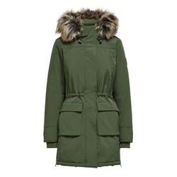 ONLY Parka Coat Damen Grün Female M