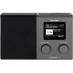 TechniSat TECHNIRADIO 4 IR Internet Tischradio Internet, DAB+, UKW DAB+, Internetradio, UKW, WLAN We