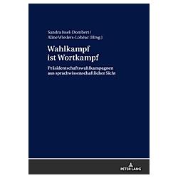 Wahlkampf ist Wortkampf - Buch