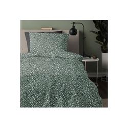 Bettwäsche Roarr, damai, mit Leoparden-Print grün