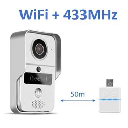 Metall Video-Türklingel DBV02P mit RFID-Lesegerät