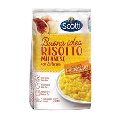 (9.48 EUR/kg) Riso Scotti Risotto Milanese con Zafferano ambrato - senza Glutine 210 g  - 210 g
