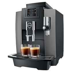 JURA WE8 Dark Inox (15420) + 2 Pakete Jura Kaffee GRATIS!