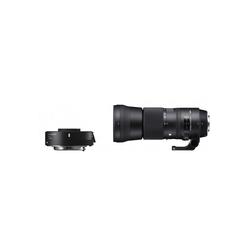 SIGMA 150-600mm f5,0-6,3 OS HSM C + Konverter TC1401 für Objektiv