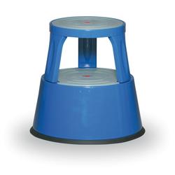 Metall-tritthocker, blau
