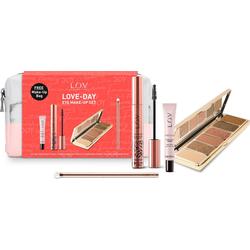 L.O.V Augen-Make-Up-Set LOVE DAY, 4 Beautyprodukte in einer Make-Up Bag